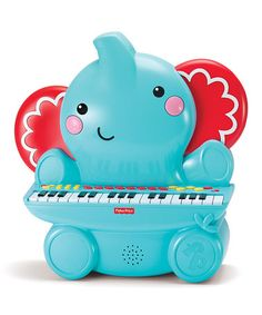 Another great find on #zulily! Fisher Price Elephant Piano #zulilyfinds