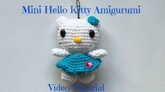 Mini Hello Kitty Amigurumi Vídeo Tutorial