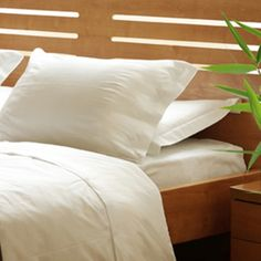 BoatBedding-draps-sur-mesure-bambou Deco, Bed Pillows, Pillow Cases, Bamboo, Home, Sleep Better, Free Samples, Bed Drapes, Products