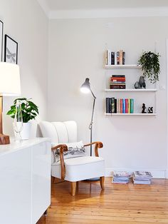 Corner reading nook. #readingnook, #relaxation