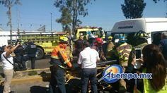 Los hechos se registraron en el Libramiento Norte, a la altura de Torreón Nuevo, cuando una camioneta tipo Van de color blanco impactó a la combi de la Ruta Gris ...