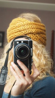 Hand knitted Chunky Headband / Winter and Fall by MyLittleKnits