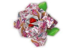 Paisley Power Flower    #ScotchStyle http://scotchducttape.com/projects/paisley-power-flower