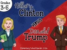 Compare and contrast two 2016 presidential candidates: Hillary Clinton and Donald Trump.  This pack includes paired passages that compare and contrast each candidate and includes organizers (venn diagrams and t-charts) as well as worksheets (trading cards, persuasive writing planning sheet, final copy paper) that you can PRINT & GO!!!