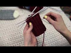 NovitaTube, How to videos (in Finnish), Villasukan varren neulominen Knitting Accessories, Hand Knitting, Free Pattern, Knit Crochet, Youtube, Socks, Stockings, Crafts, Hand Weaving