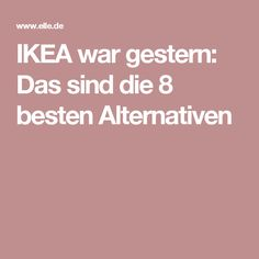 haushalt IKEA war gestern: Das sind die 8 besten Alternativen Bed Buying Tips for the Novis Shopper Hemnes, Online Furniture, Diy Furniture, Diy 2019, Modern Bedroom Decor, Online Shops, My New Room, Shopping Hacks, Good To Know