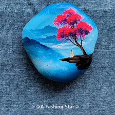 7 Rock Painting Ideas For Home Decor – DIY Rock Art Want to com. - 7 Rock Painting Ideas For Home Decor – DIY Rock Art Want to come up with some new - Diy Fashion Projects, Diy Art Projects, Project Projects, Rock Painting Designs, Paint Designs, Rock Kunst, Art Rupestre, Art Pierre, Home Decor Paintings