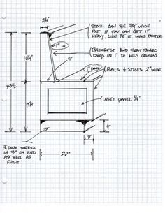 Sketch With Dimensions For Corner Kitchen Nook Table W Benches