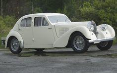 1939 Bugatti Type 57C Galibier Sport Saloon.