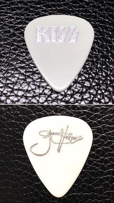 Kiss Band Guitar Pick Rock Roll Collectible Music Memorabilia Gift Present