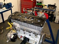 vintage ford racing engine - Yahoo Image Search Results
