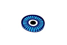 Plexiglass coasterScreenprinted & lazer cuttedDimensions 10 x 10 x cmDesigned & made in Greece Bmw Logo, Evil Eye, Screen Printing, Greece, Coasters, Polka Dots, Eyes, History, Tableware