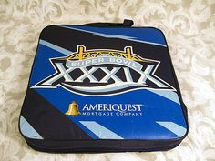 Sold NFL 2005 Super Bowl XXXIX Stadium Seat Cushion Eagles Patriots