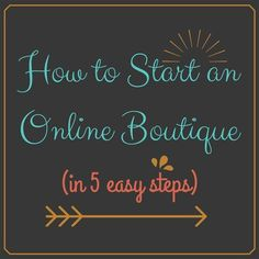 How to Start an Online Boutique | The Business of Fashion #followback #entrepreneur #onlinebusiness
