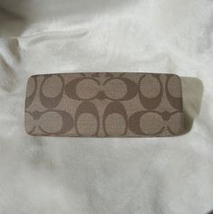 5fa993924c9d Coach signature case Hard clam shell case authentic COACH Condition  On the  bottom side of case there is a marking. Please refer to photos for details