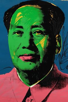 Mao, 1973, by Andy Warhol