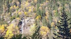 Twin Falls. Photos taken in Fall 2015 Smithers, BC. Photos by Brian Vike Houston, British Columbia.