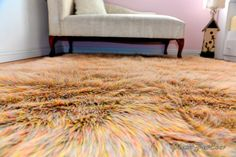 Top Selling 2015 New Rainbow Camel Luxury Faux Fur by PlushFurever