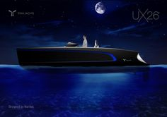UX26. Boat design by Norikei for Titan Yachts