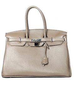 Italian Leather Birkin Inspired Etoupe Handbag with Silver Trim Glamorous Angels http://www.amazon.co.uk/dp/B0133O41TU/ref=cm_sw_r_pi_dp_OIjXvb1M6TEH9