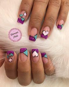 Sns Nails, Love Nails, Pedicure, Nailart, Glamour, Perfect Nails, Simple Nails, Nails On Fleek, Nail Artist