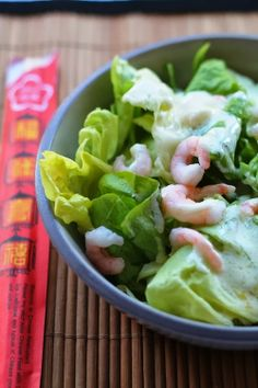 Le mie ricette con e senza: Insalatina cinese agrodolce di gamberetti