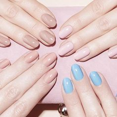 BEST FOR: Elongating short or stubby fingers.BOTTOM LINE: Simple and classic, round shapes are the easiest to maintain at home or in between salon visits. The short length and natural curved edge are a no-fuss option for anyone who puts their fingers to work.WEAR IT WITH: Any shade from the sheerest nudes to the boldest brights.@nailsinc