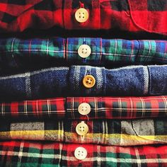 I should do one like this with several of Brady's plaid cotton shirts, his favourites....