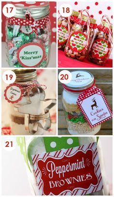101 Quick and Easy Christmas Neighbor Gifts - COOKIES FOR SANTA