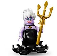 Lego Minifigure Serie Disney, Ursula