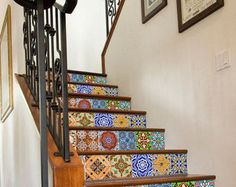 Custom Tile Stairs - SKU: SCPTTN1