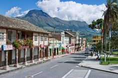 Cotacachi Ecuador (Leather town)