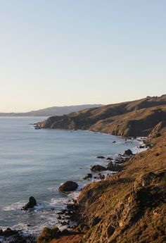 California coast- always a treat when you're there! I want to go back so badly.