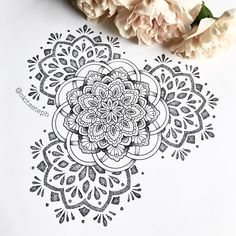 """868 Likes, 12 Comments - sтєρн ѕρєєя (@okitssteph) on Instagram: """" Pizza Hangover but the sun is shining so its alllll gooood and I finished this fun mandala!! I'd…"""""""