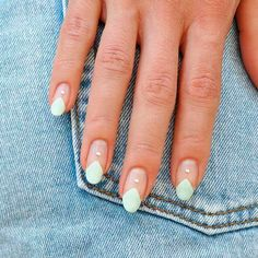 """25 Spring Nail Art Ideas That'll Make Your Friends Say """"OOH, Your Nails!"""" - Our nails will celebrating the spring season with bright colors, floral details, geometric shapes, - Minimalist Nails, Us Nails, Matte Nails, Prom Nails, Acrylic Nails, Gradient Nails, Stiletto Nails, Coffin Nails, Holographic Nails"""