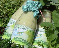 """Rezept Salatsoße """"Lecker"""" auf Vorrat von Tina.K - Rezept der Kategorie Saucen/Dips/Brotaufstriche"""