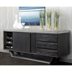 Langley Sideboard - The Langley Sideboard combines an unparalleled style with a functionality that is rarely seen. The beautiful blend of rustic and modern architectural . Workout Room Home, Workout Rooms, Modern Sideboard, Sideboard Buffet, Coffee Table Furniture, Home Repair, Mid-century Modern, Improve Yourself, Home Improvement