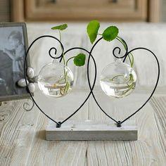 Elegente décorative Wohnidee de verre