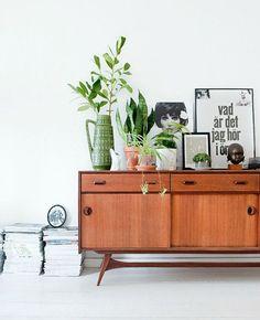 Vintage meubels in huis