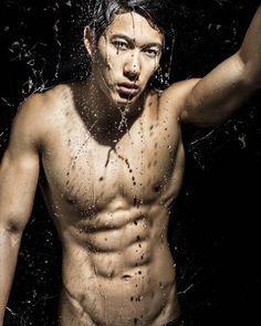 Hot Hunk Singapore  Soaking Wet - Josh Tay  #hothunksingapore #singapore #fitnessmodel #model #fitness #hothunk #style #selfie #sexy by hothunk_singapore