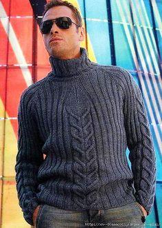 Синий пуловер   САМОБРАНОЧКА