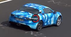 Alpine A110 Tackles The Nurburgring In Latest Tests #Alpine #Alpine_A110