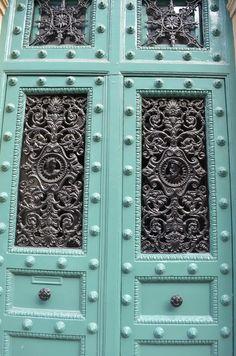 Views From My Kitchen Sink A Door In Paris Green Door When One