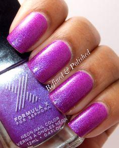 Sephora Formula X Hyped & Love Chemistry » Refined & Polished Pretty!!!