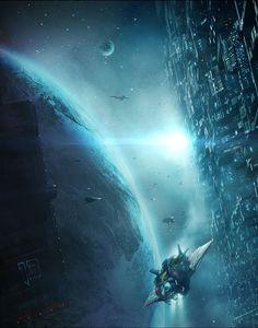 Sci-Fi Art via Heaven4D