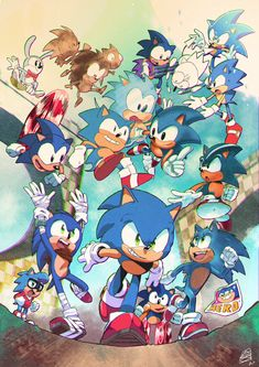 Hedgehog Art, Sonic The Hedgehog, Shadow The Hedgehog, Sonic Team, Sonic Heroes, Sonic Adventure, Sonic Fan Art, Sonic The Movie, Classic Sonic