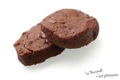 Biscuits croustillants chocolat et gingembre