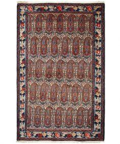 Persian Senneh, boteh design