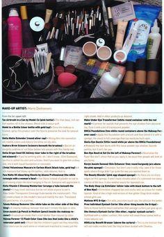 Mario Dedivanovic's Make-Up Bag Kim K Makeup, Love Makeup, Makeup Inspo, Makeup Tips, Makeup Hacks, Makeup Tutorials, Makeup Products, Beauty Products, Makeup Artist Kit
