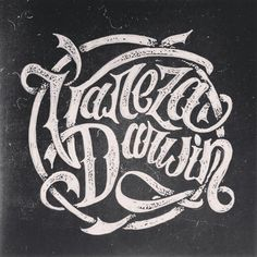 Instagram media by deckysastra - Buat aa DJ yg lagi ngehits @varezadarwin  #handlettering #lettering #logo
